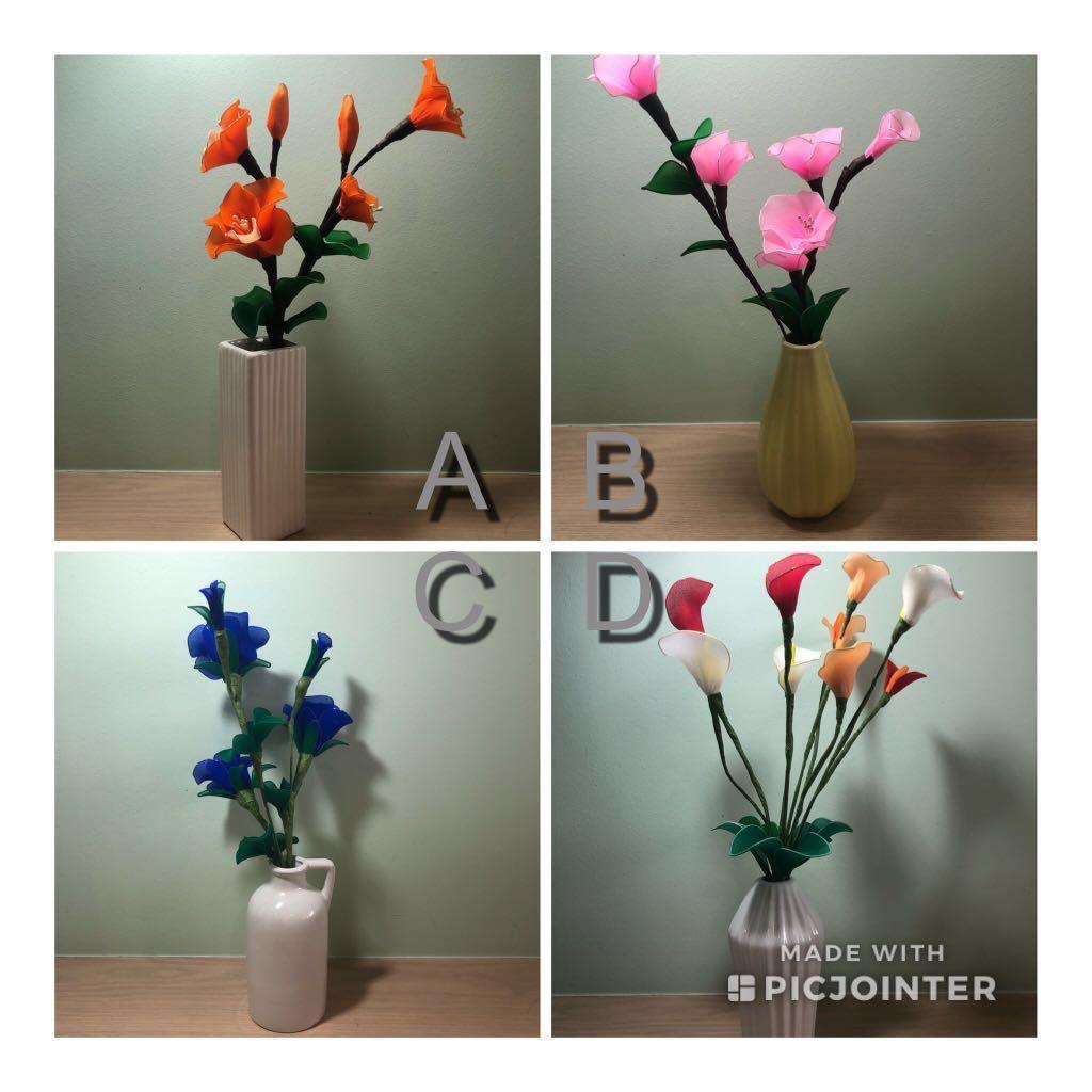 225 & Great Xmas gift idea - Handmade Nylon Stockings flowers in a ...
