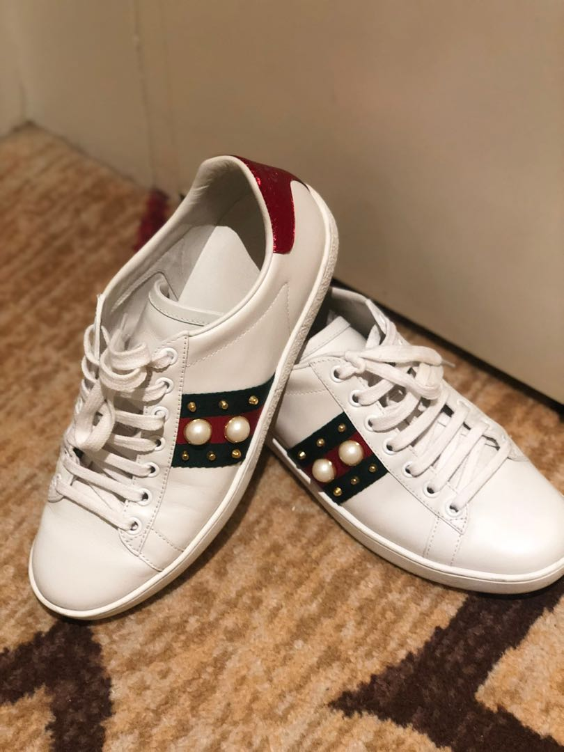 0f988d6cc Gucci Ace Sneakers, Women's Fashion, Shoes, Sneakers on Carousell