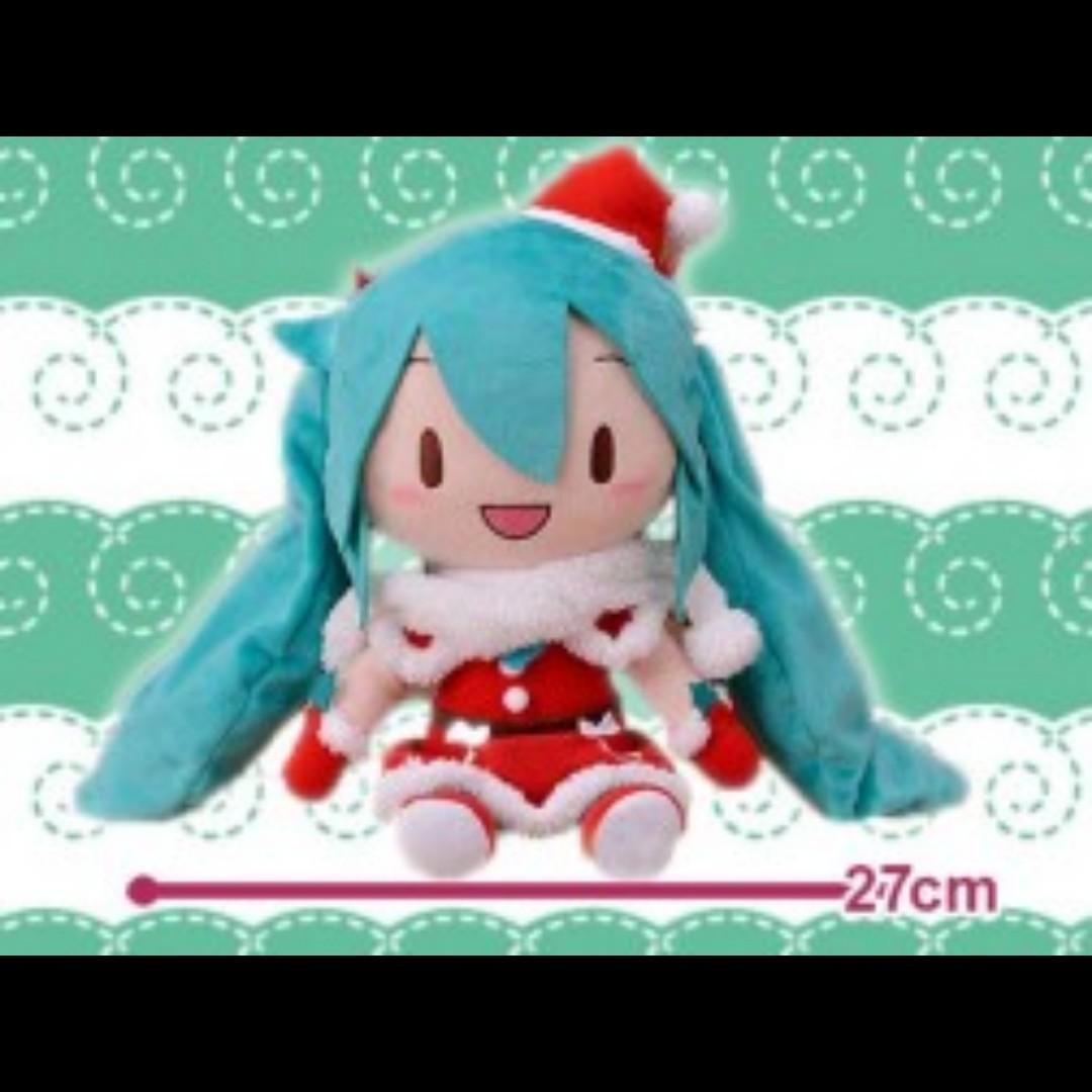 Hatsune Miku Christmas 2018.Hatsune Miku Series Special Soft Plushy Christmas 2018 Toys