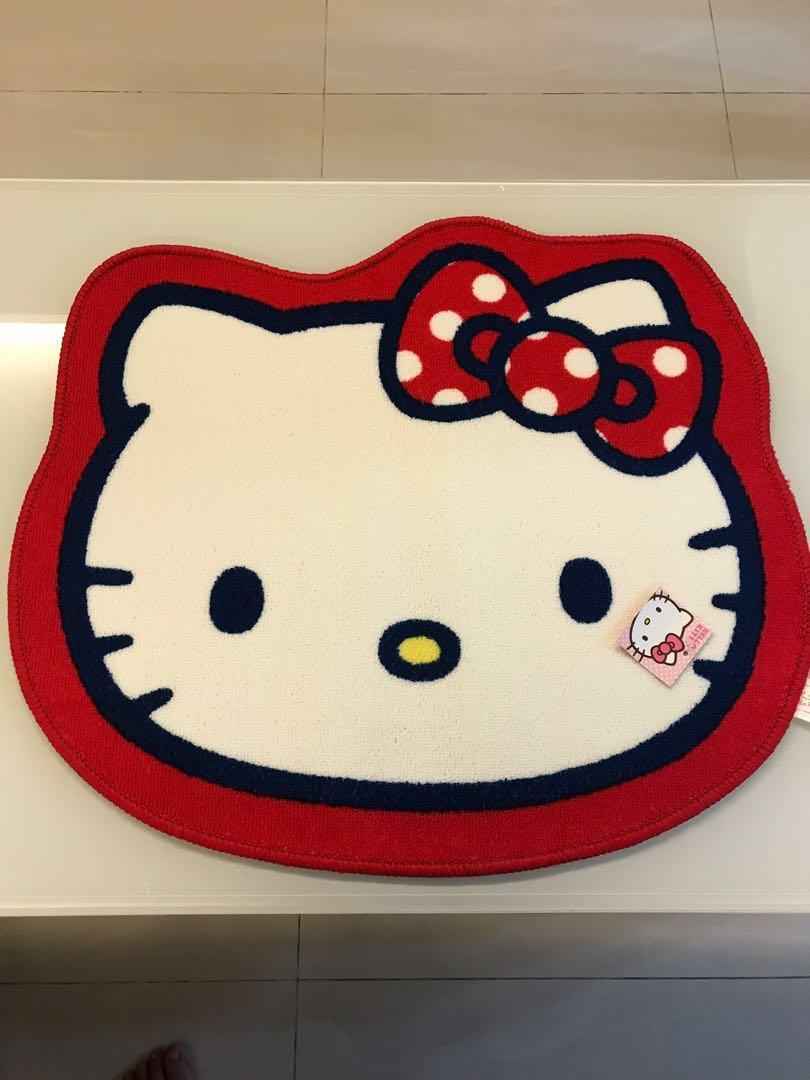 8a3c584fb Hello Kitty Carpet (Anti-slip), Everything Else on Carousell