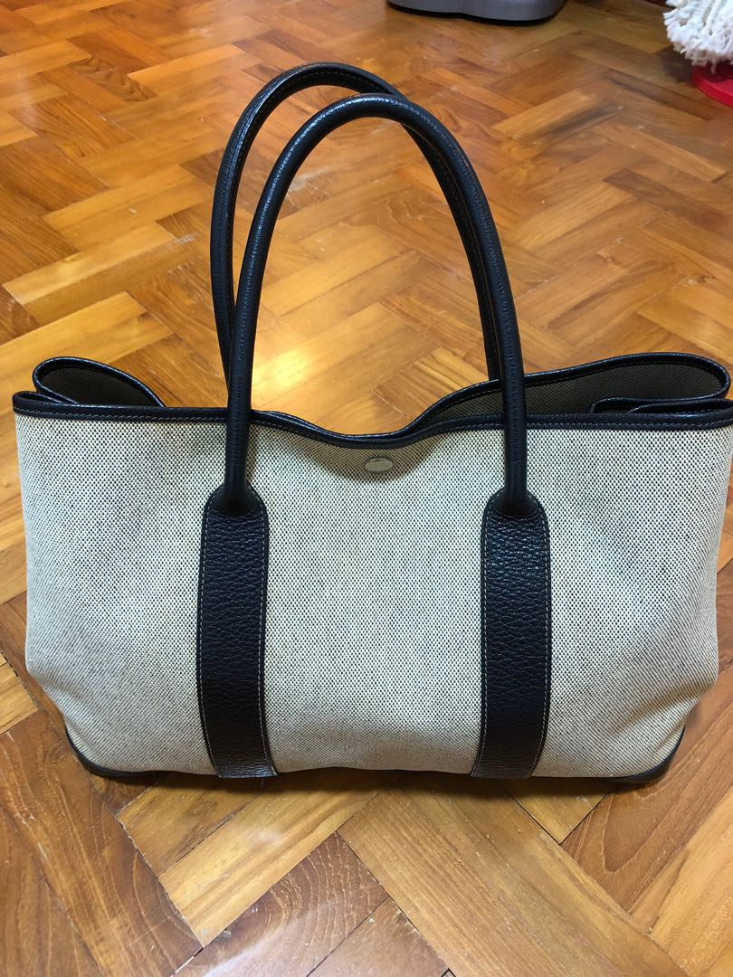 7c4fb8094aab Hermes Garden Party Tote Bag (Authentic)