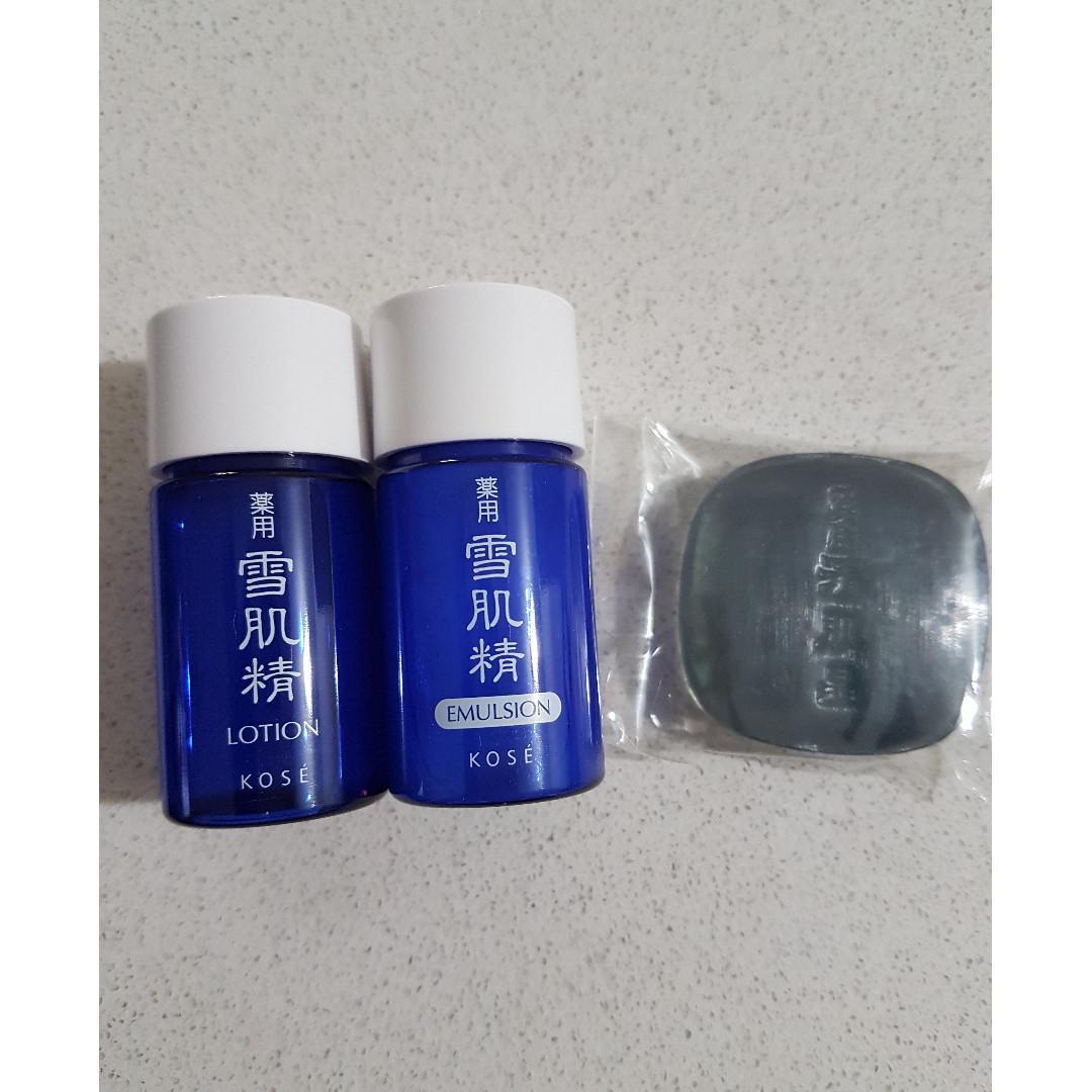 Japan KOSE Mdeicated Sekkiseki Skin Care Set Travel Set