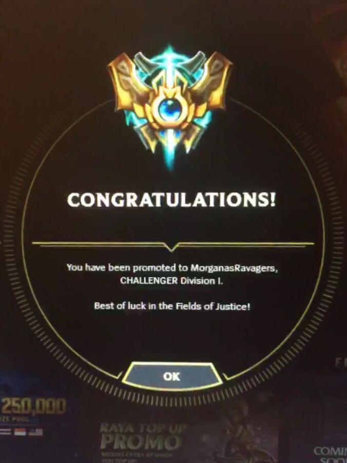 League of Legends S8 Ranked Accounts, Toys & Games, Video