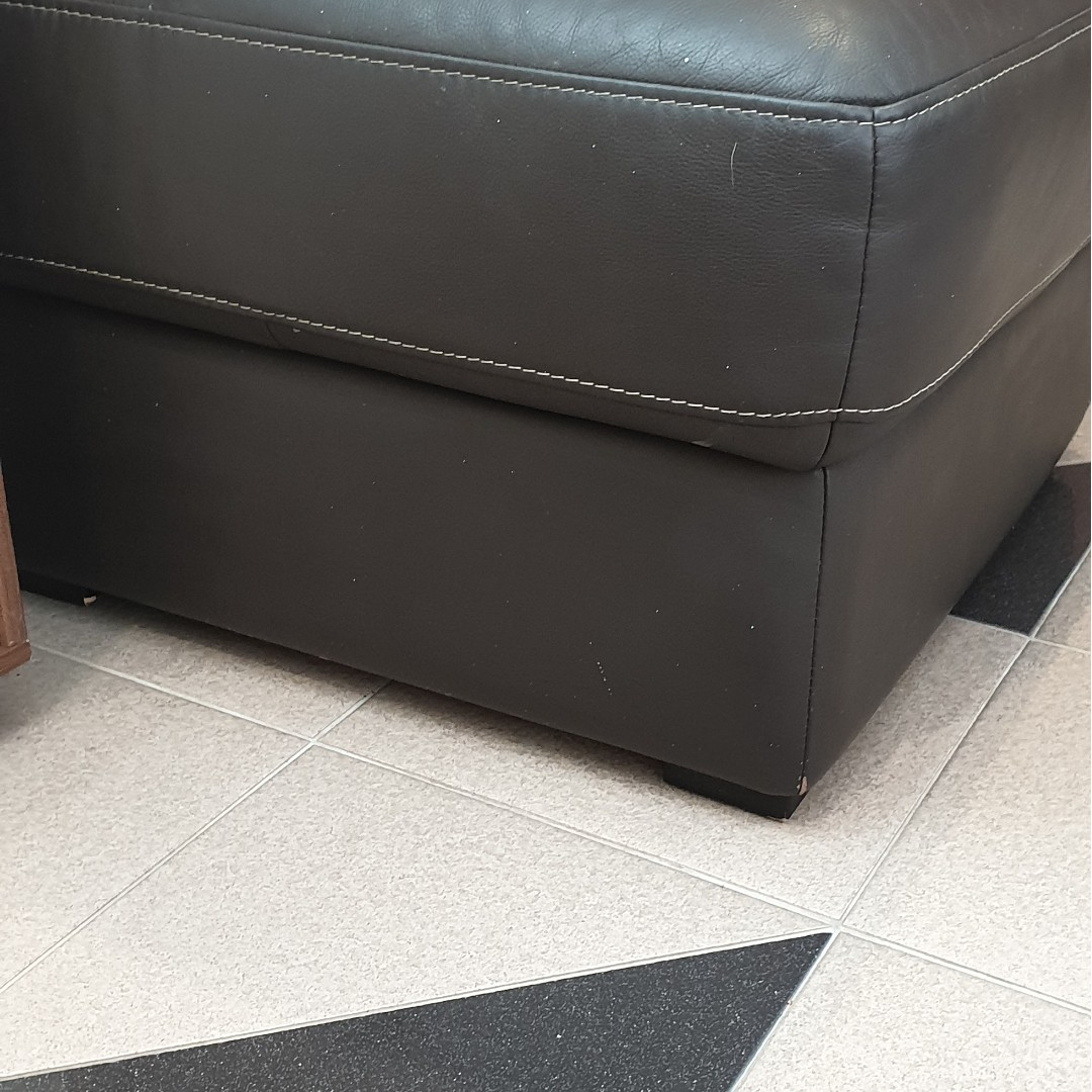 Leather Ottoman Furniture Others On Carousell
