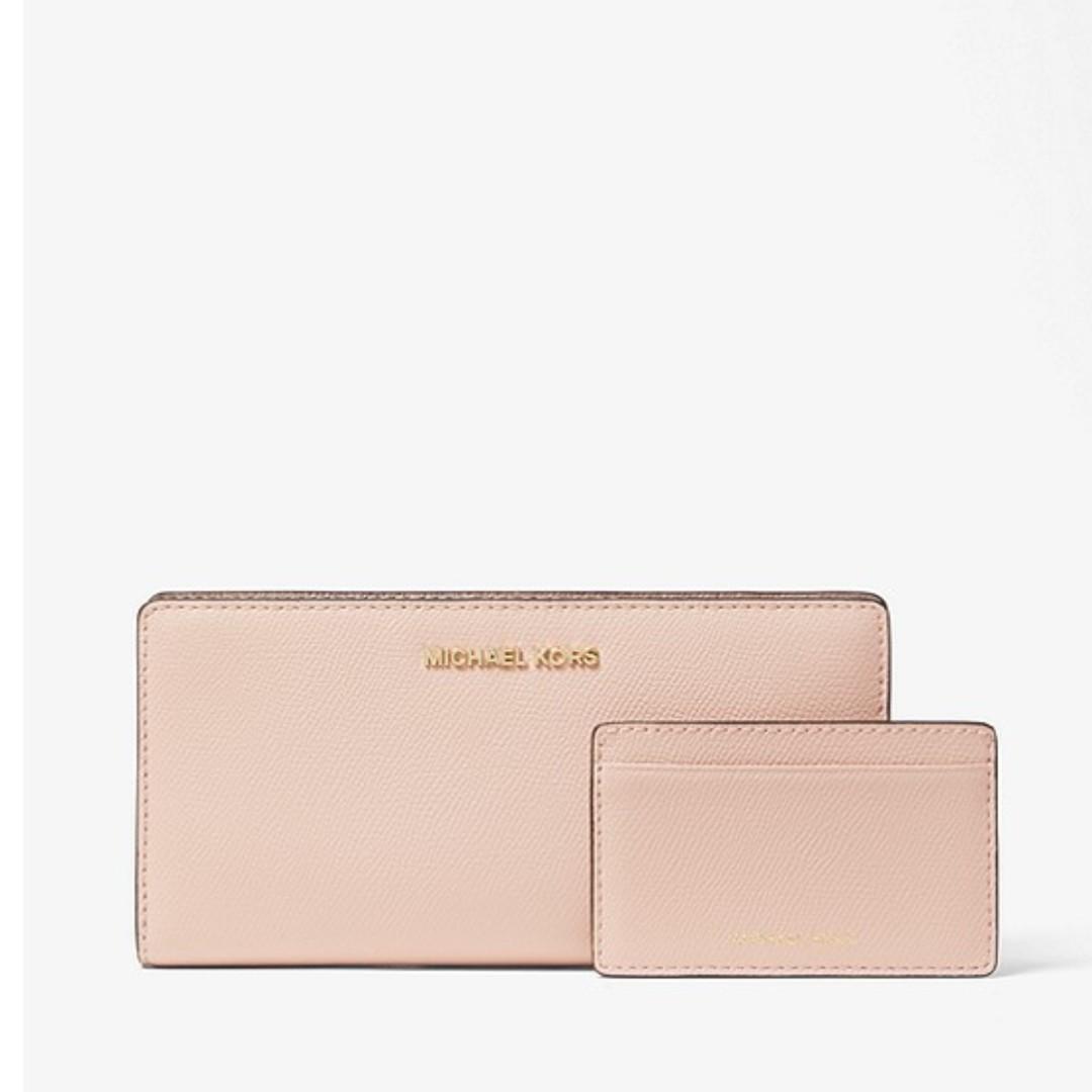 018209a51300 Michael Kors Saffiano Leather Slim Wallet, Women's Fashion, Bags ...