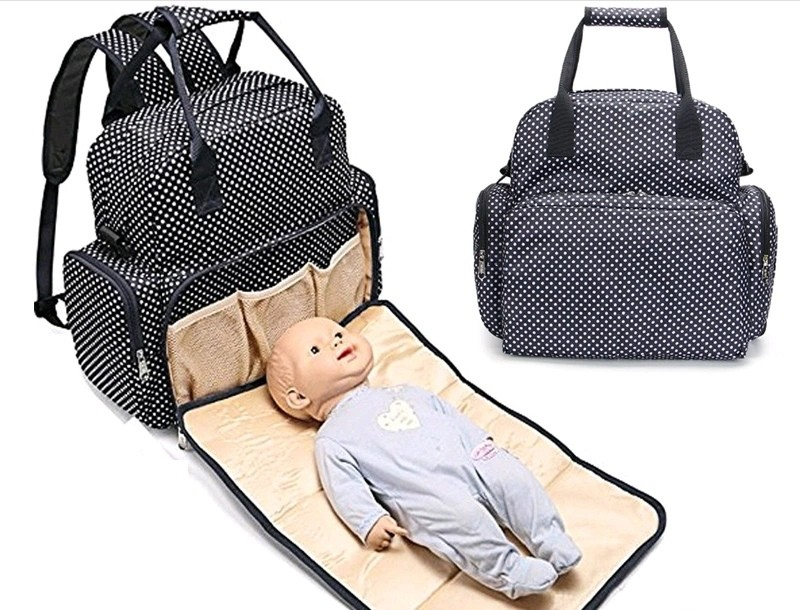 0870989ad51 Multifunctional mummy backpack, diaper bag, waterproof baby nappy ...