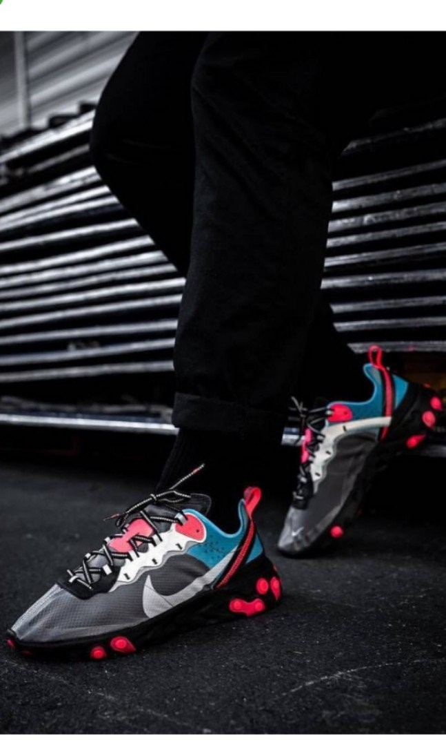 f93094542f5a Nike react element 87 blue chill solar red