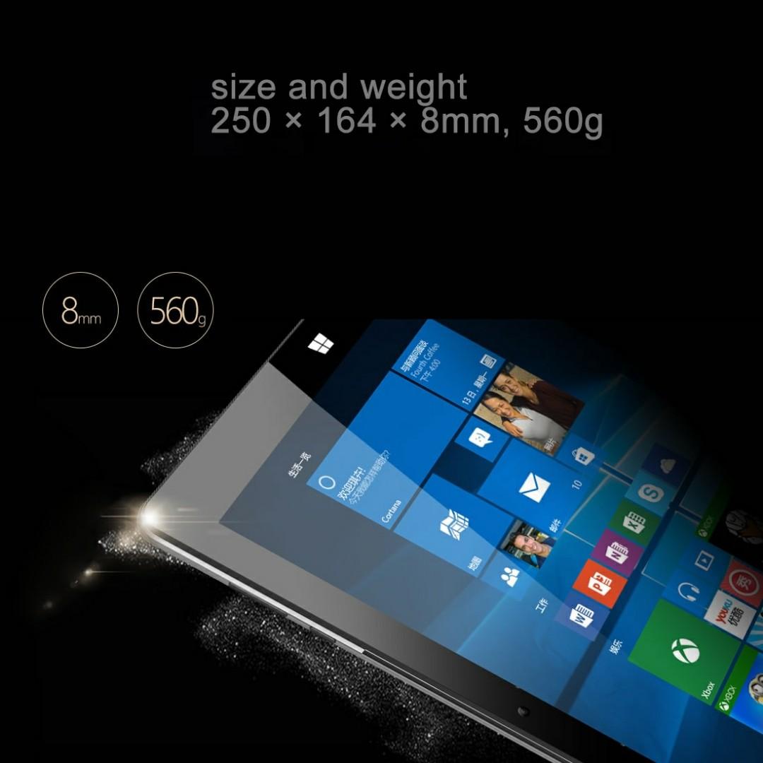 ONDA oBook 20 Plus Tablet, 10 1 inch, 4GB+64GB, Windows 10 + Remix 2 0  Android 5 1 Dual OS, Intel Cherry Trail Atom X5-Z8350 Quad Core 1 84GHz,  RAM:
