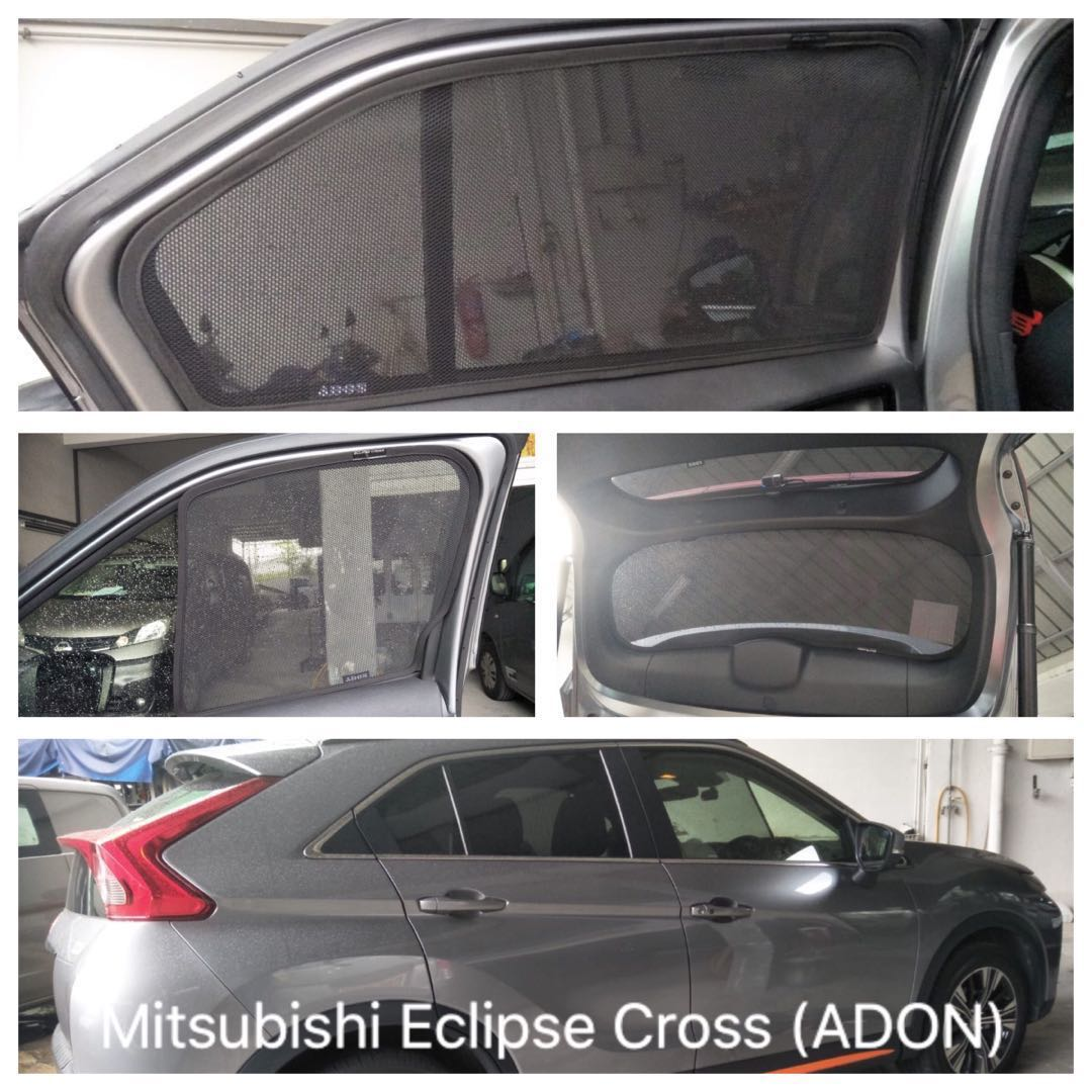 Original ADON Shades Custom Fit Magnetic Sunshades on Mitsubishi Eclipse  Cross c1c53fbcf62