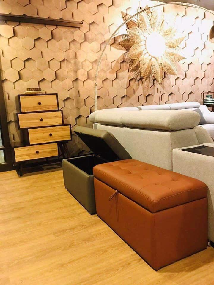PVC Sofa Chair with Storage