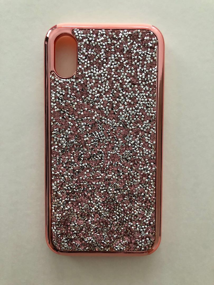 best sneakers e7c17 d22b5 Rose Gold Swarovski Case for iPhone X