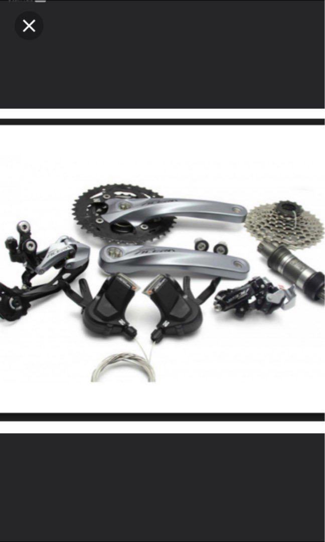 1193e983895 SHIMANO M3000 Full Group set (27 Speed), Bicycles & PMDs, Parts ...