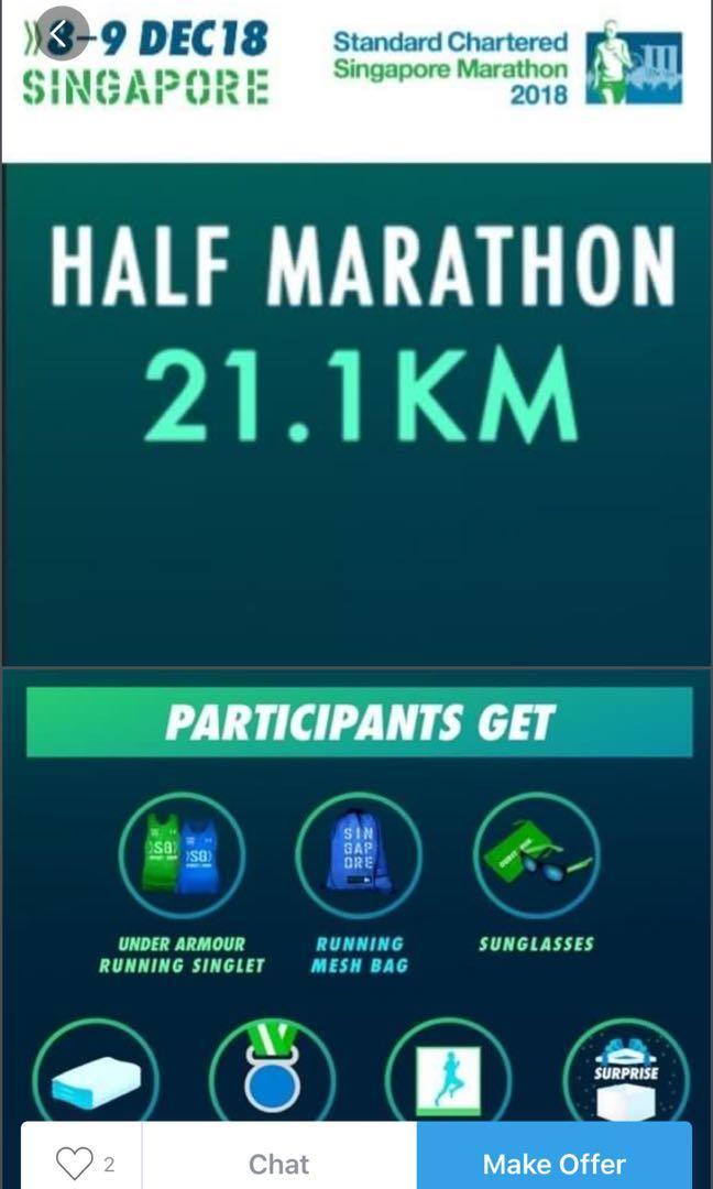 Standard chartered Half marathon