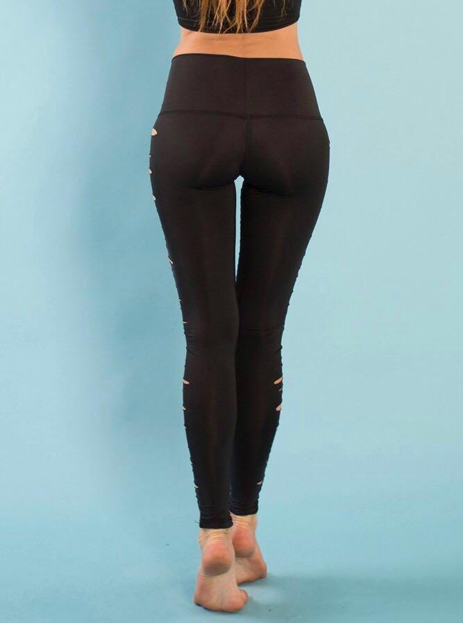 TEEKI JIMI HOT PANTS - yoga/gym - small