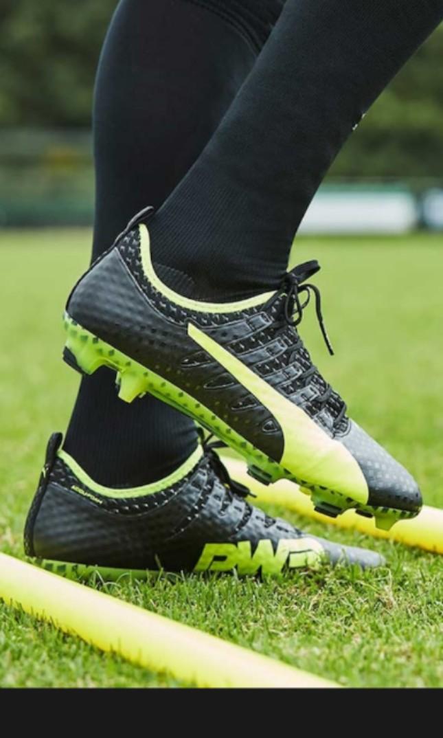 4395faecbdc8 USA 14 grade 1 leather PUMA evoPOWER Vigor 1 FG Football Boots ...