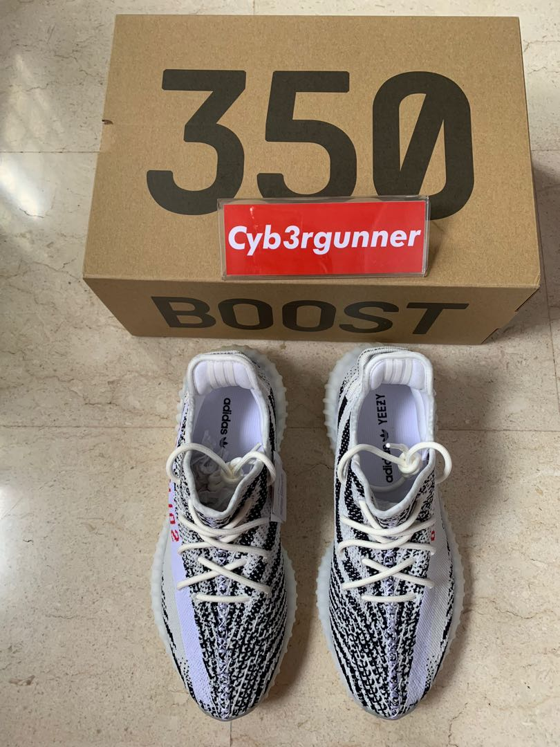 big sale 983c3 70697 Yeezy boost 350 zebra US10