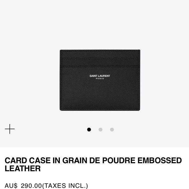 YSL / Saint Laurent Paris Card holder brand new in box