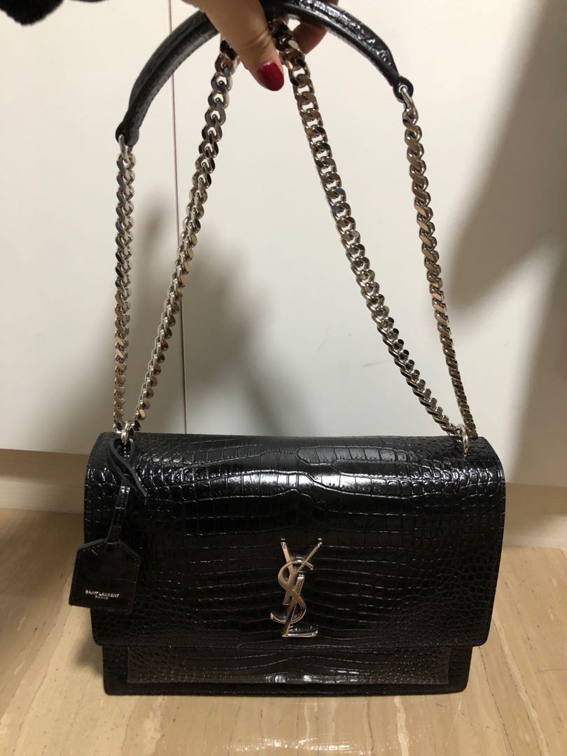 293a8f477a8 YSL Large Sunset Bag, Women's Fashion, Bags & Wallets, Handbags on Carousell