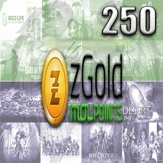 zGold MOLPoints 250