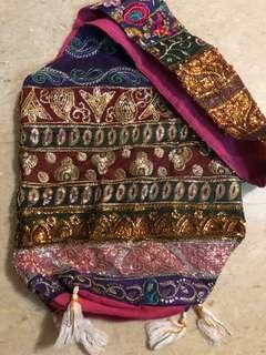 Indian Handmade Full Sequin Sling bag