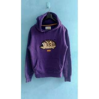 Pancoat Hedgehog Purple Hoodie M