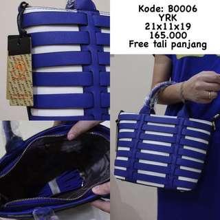 tas Cewek fashion blue