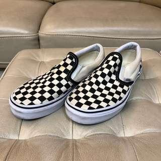 Used Vans Checkerboard Slip ons US 3