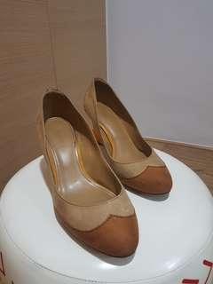 Charles & Keith Wedge Heeled Shoes