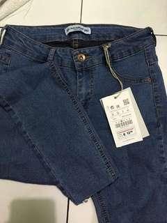Celana Jeans Skinny Women Pull&Bear Original