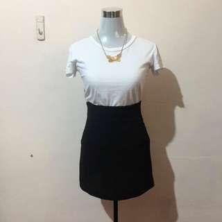 Highwaisted Black Pencil Skirt