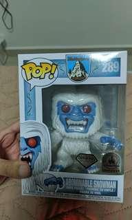 Abominable snowman diamond collection pop