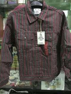 Jaket striped women Pull&bear Original