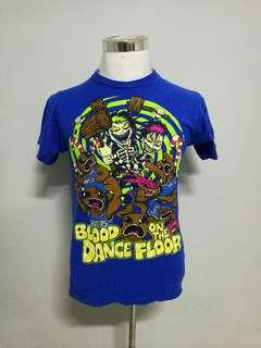 BLOOD ON THE DANCE FLOOR band t-shirt