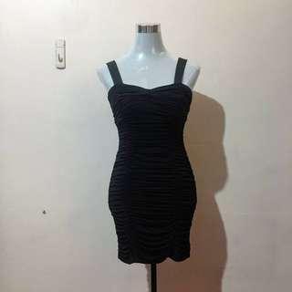 FOREVER 21 Black Bodycon Sexy Dress