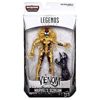 MISB Marvel Venom Legends Series Scream (Monster Venom BAF Carnage Toxin Lasher Spiderman Classics SMC Select)