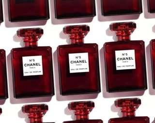 CHANEL no5 eau de parfum limited edition 100ml 紅色樽 限量版