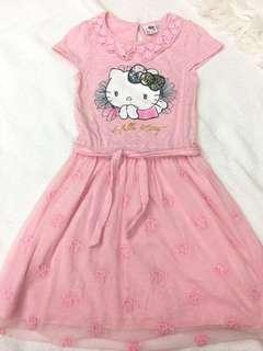 Hello kitty Dainty Dress 6-7 yo