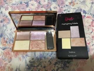 Sleek MakeUp Highlighting palette (Solstice)