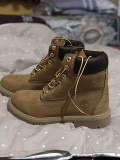 Timberland boots yellow 6 inch women