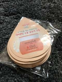 Etude House Collagen Cream Samples [10pcs]