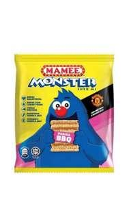 MAMEE MONSTER NOODLE SNACK BBQ 25G