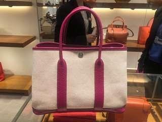 Hermès garden party small size limited