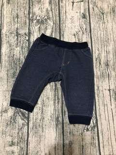 🚚 日本購入寶寶軟牛仔褲(60-70)