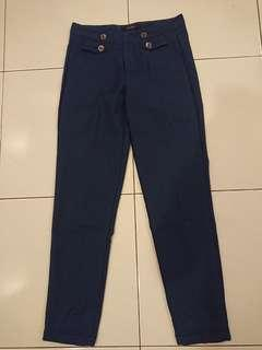 Flash Deal! Midnight Blue Long Pants Size S