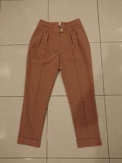 Flash Deal! Jaspal Brown High Waist Long Pants Size XS