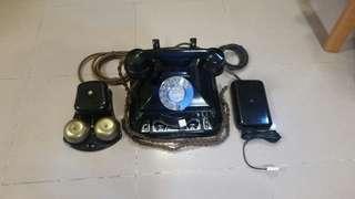 古董攪盤大班電話連鐘箱