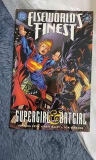 SUPERGIRL & BATGIRL. DC Comics import