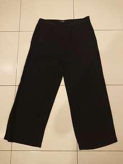 Black Dress Pants Front Overlay Size M