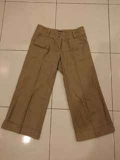 Flash Deal! Warehouse Brown 3/4 Dress Pants Size UK6