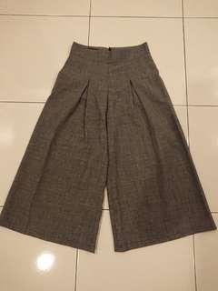 Flash Deal! Grey 3/4 Dress Pants Size S